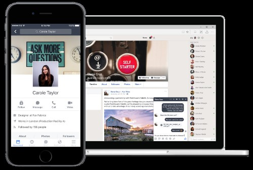 Facebook Unveils 'Workplace' To Take On Slack, Yammer