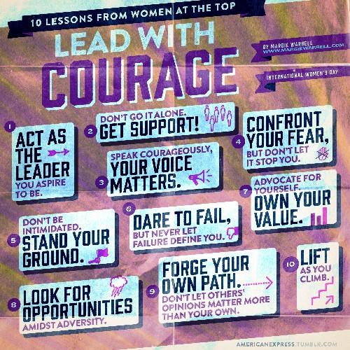 Dare Bravely, Speak Boldly: 10 Lessons From Leading Women On Closing The Gender Gap