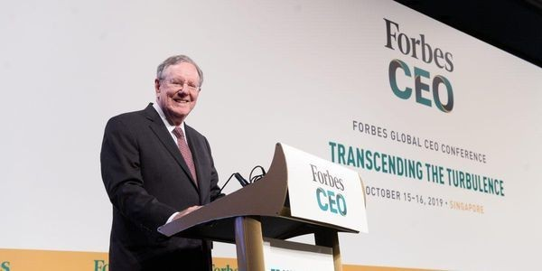 Forbes Global CEO Conference Opens In Singapore