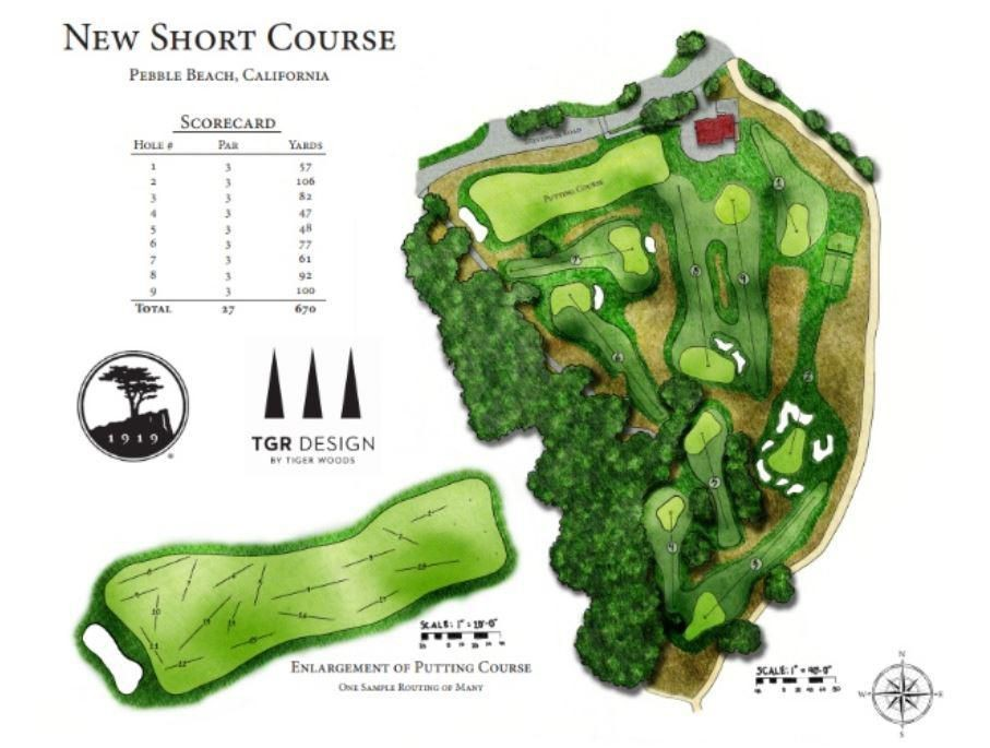 Tiger Woods-Designed Short Course At Pebble Beach To Include Replica Of Iconic Par-3 7th Hole