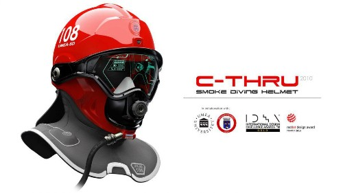 Qwake Tech's AR Helmet Helps Firefighters See Through Smoke And Get Out Of Fire Five Times Faster