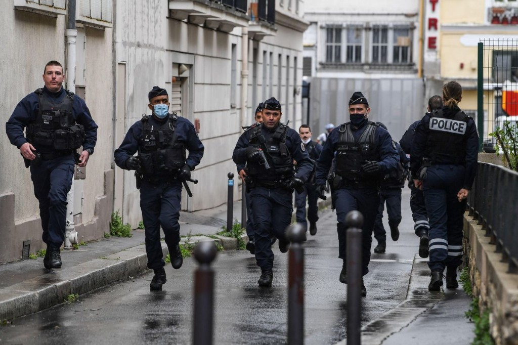 Two People Seriously Injured In Paris Knife Attack Near Charlie Hebdo's Former Office, Site Of 2015 Terrorist Attack