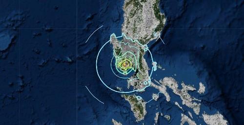 Earthquake Shakes Philippines Leaving Five Dead North Of Manila