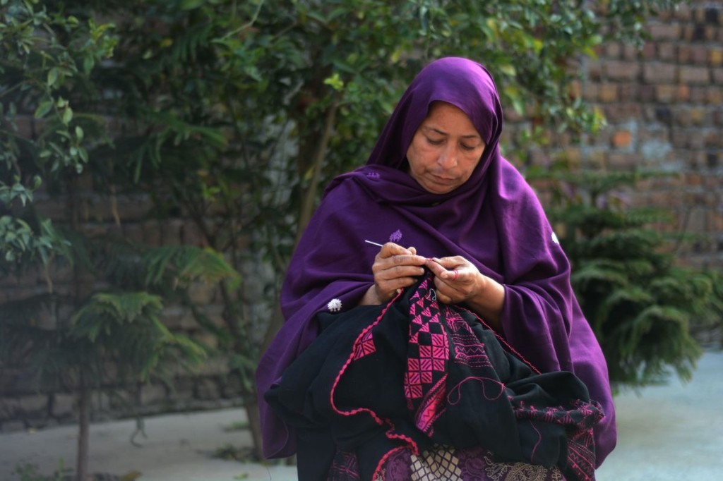 The 'Flower Craft' Artisan From Hazara
