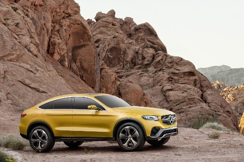 Mercedes Concept GLC, Volkswagen C Coupe GTE: Confused Coupes From The Shanghai Auto Show