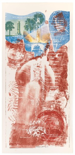 This Stanford Exhibit Shows How Robert Rauschenberg Boosted NASA Space Exploration... With Art