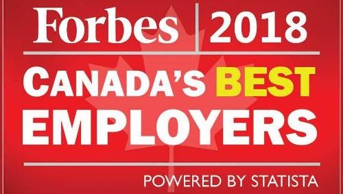 Canada's 12 Best Employers In 2018