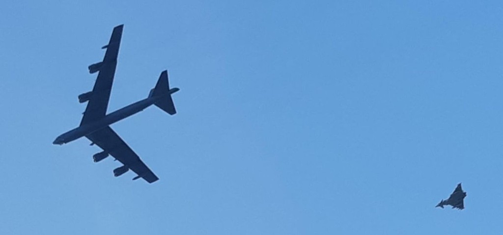 U.S. Air Force B-52s Just Flew A Mock Bombing Run On Russia's Baltic Fortress