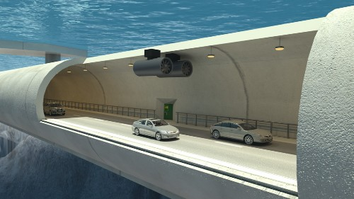 Could Norwegian Engineers Really Build A Floating Tunnel In A Fjord?