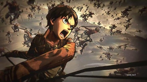 Upcoming 'Attack On Titan' Game Looks A Lot Like The Anime