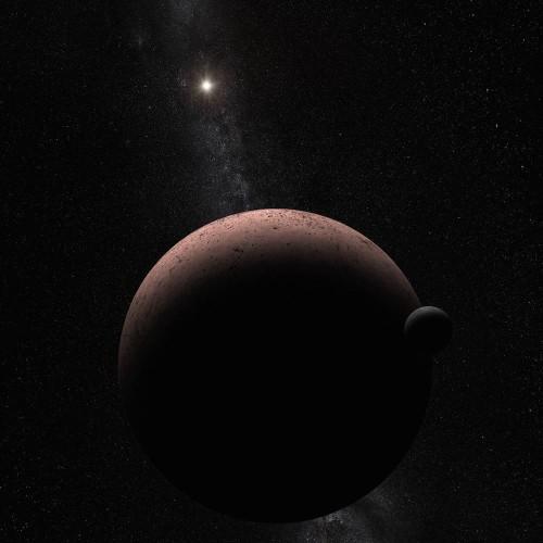 Tiny Dwarf Planet Makemake Has An Even Teenier Moon
