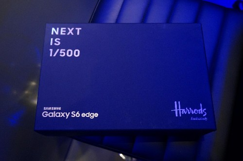 Samsung Galaxy S6 Edge Gold: Hands-on With The Harrods Exclusive Phone