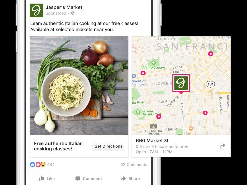 Facebook Shows Brick-And-Mortar Businesses How Their Mobile Ads Impact Store Visits And Sales