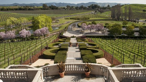 Ten Of The Most Beautiful Tasting Rooms In Napa Valley