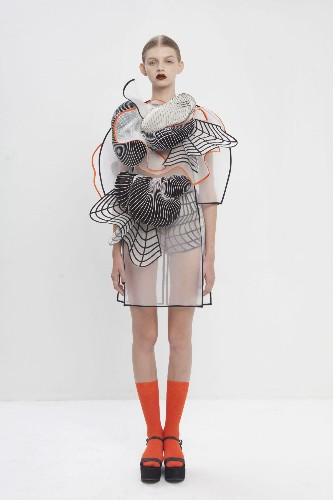 An Israeli Designer's Dresses, Made With 3D-Printing, Offer A Glimpse At The Future Of Clothes