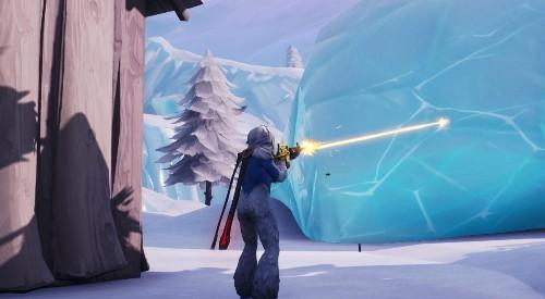 Here's What Was Inside Fortnite's Big Iceberg