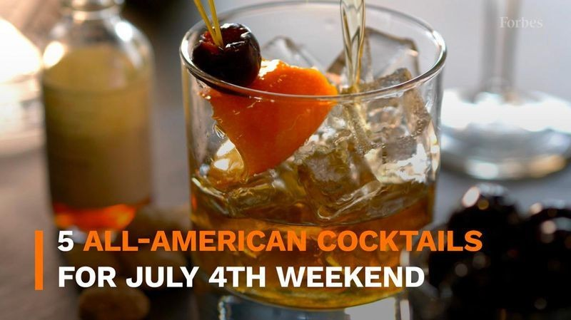 5 All-American Cocktails For July 4th Weekend