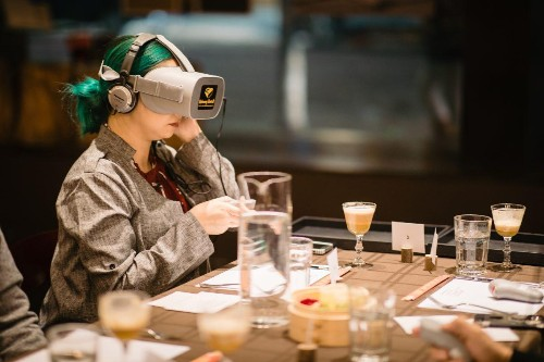 Can Food And VR Combine To Create Art?