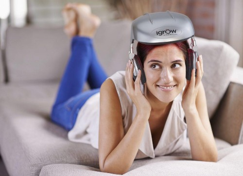 Would You Wear This Low Level Light Therapy Helmet If It Made Your Hair Grow Back?
