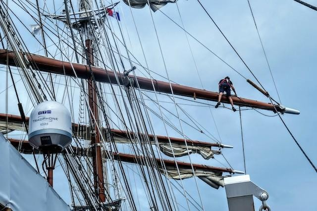 Sea Cloud: A Tall Sailing Ship Steeped In History