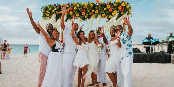 A Vow Renewal In Aruba Is The Ultimate In Romance