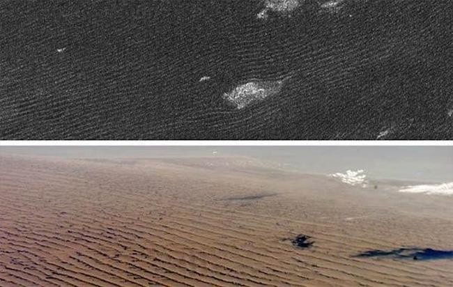 Mighty Sand Dunes Of Saturn's Moon Titan Shaped By Rare High Winds