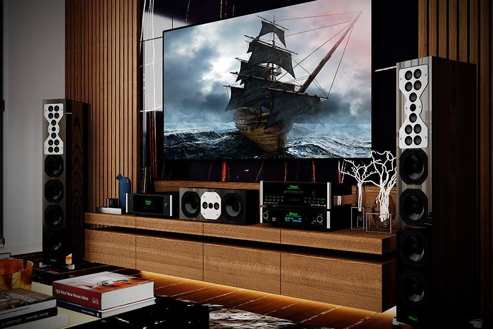 McIntosh Raises The Curtain On Two New Home Cinema Components