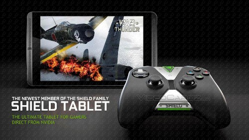 [Updated] Nvidia's New Product Is A Shield Tablet With Tegra K1, Designed For PC And Android Gaming