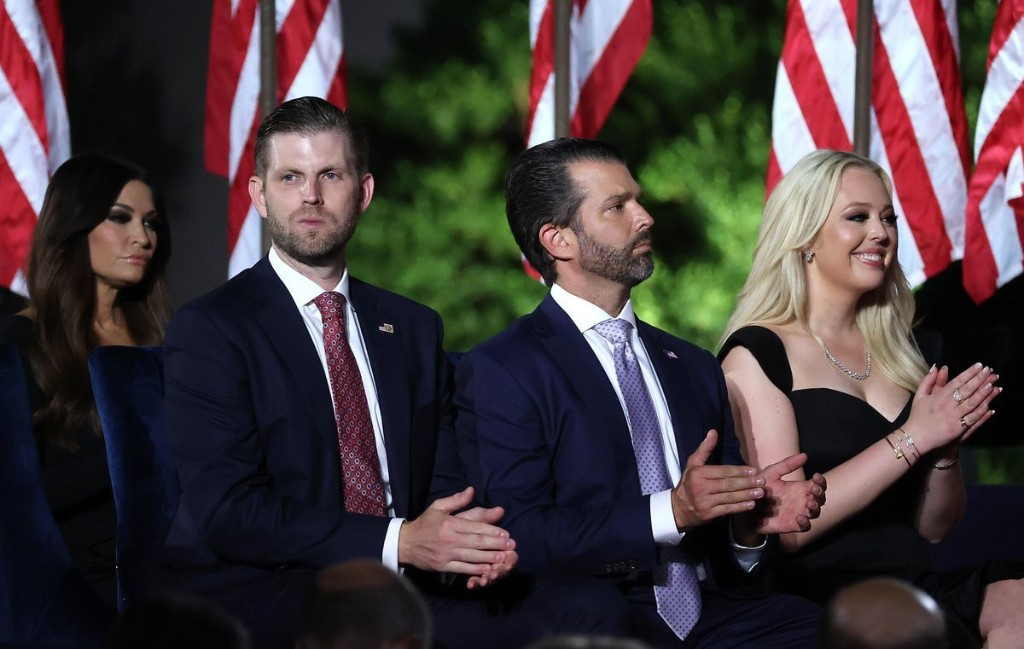 Trump Sons Hint At Future Runs As President's Polling Looks Dire