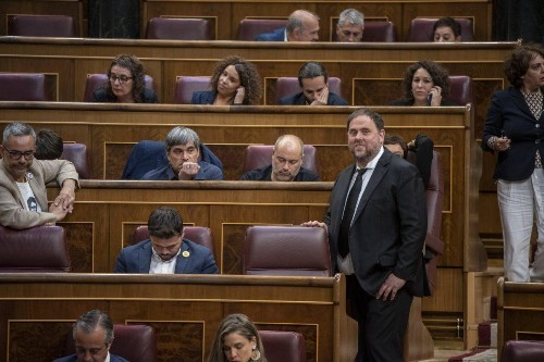 "Oriol Junqueras: ""It is the best way to denounce the repression of the Spanish State"""