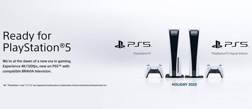 Sony Launches 'Ready For PlayStation 5' Bravia TV Campaign