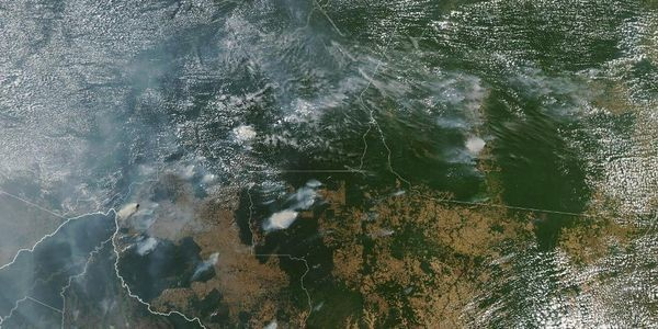 The Amazon Is Burning And Smoke Is Turning Day To Night In Brazil
