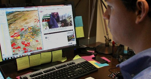 How Researchers Use Social Media To Map The Conflict In Syria