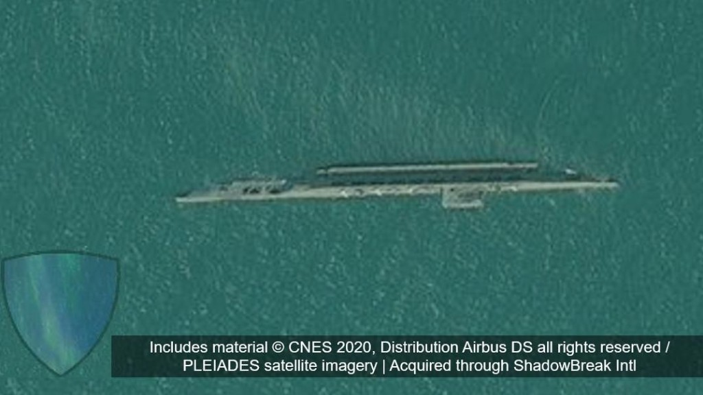 Iran Accidentally Sinks Fake Aircraft Carrier In Wrong Place