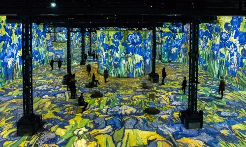 Getting Inside Van Gogh: A New Blockbuster Show In Paris In Photos