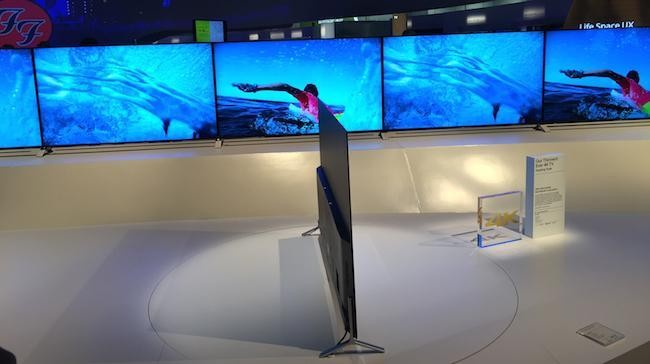 Hands On With Sony's New 4K, Android And Ultra-Slim X90 TVs