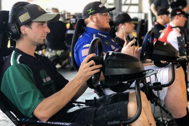The First NASCAR Esports League Kicked Off This Weekend At The Charlotte Motor Speedway