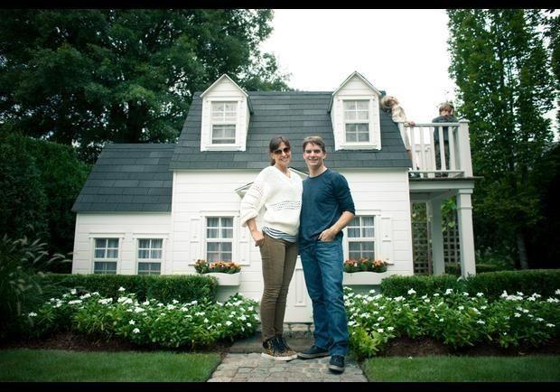 At Home With Jeff Gordon and Ingrid Vandebosch