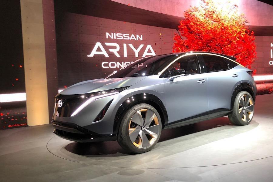 Japan's EV Onslaught Starts With Nissan's Ariya Electric SUV