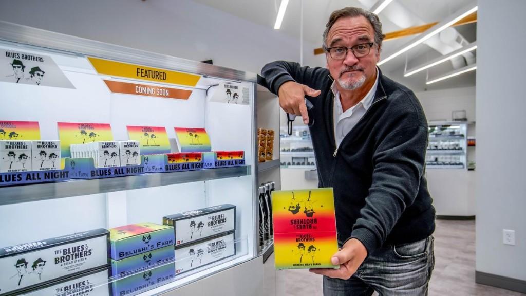Meet 'Blue Brothers' Jim Belushi And Dan Aykroyd At This Dispensary