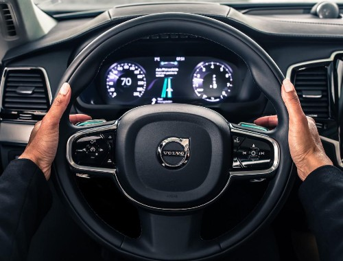 Uber And Volvo To Collaborate On Development And Production Of Autonomous Cars
