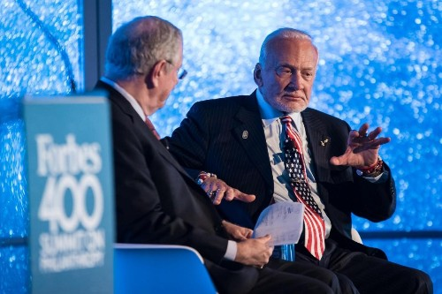 Buzz Aldrin: The Government Should Stop Competing With Private Sector In Space