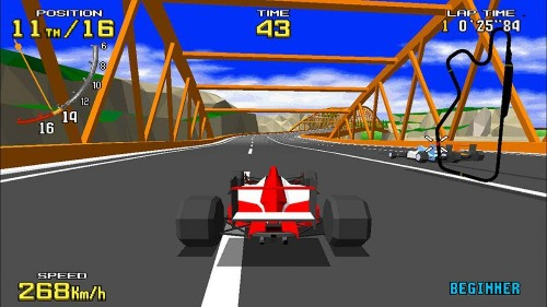 The Classic Arcade Game 'Virtua Racing' Is Finally Coming To The Switch In Japan This April