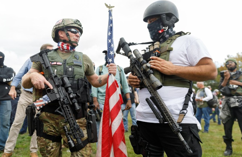 These Five States Are At Highest Risk Of Heightened Militia Activity Around The Election