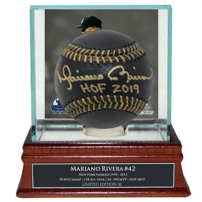 A $649 Mariano Rivera Signed Baseball On eBay Is A Good Buy For A Great Cause