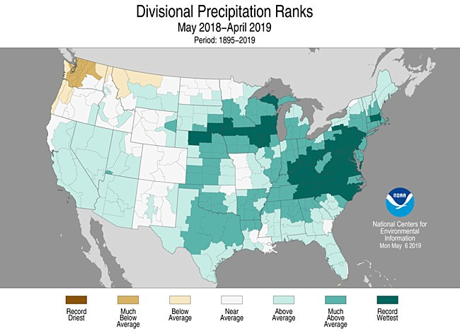 Why The U.S. Just Had Its Wettest 12-Month Stretch On Record