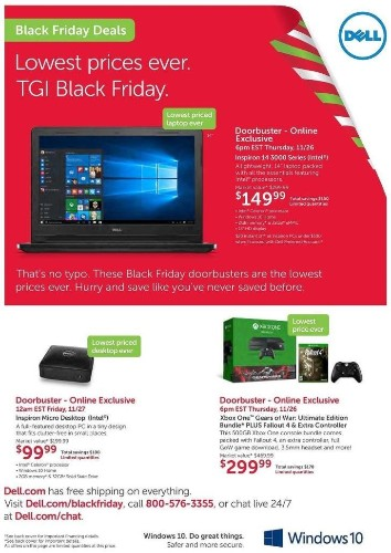 Black Friday Leak: Xbox One With Two Controllers, 'Fallout 4,' And 'Gears of War' For $299.99