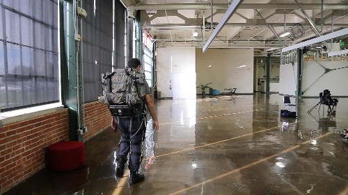 First Look At A Darpa-Funded Exoskeleton For Super Soldiers