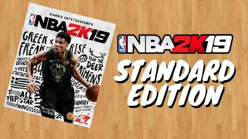 Giannis Antetokounmpo Officially Revealed As 'NBA 2K19' Standard Edition Cover Athlete