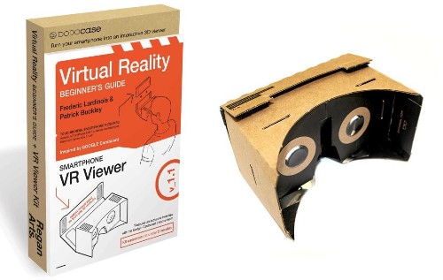 DIY Virtual Reality, For The Price Of A Hardcover Book